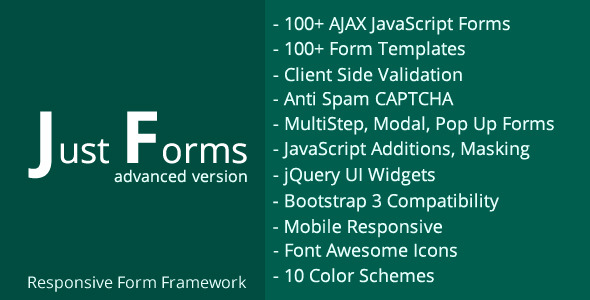 CodeCanyon Just Forms advanced 11301110