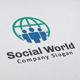 Social World Logo - GraphicRiver Item for Sale