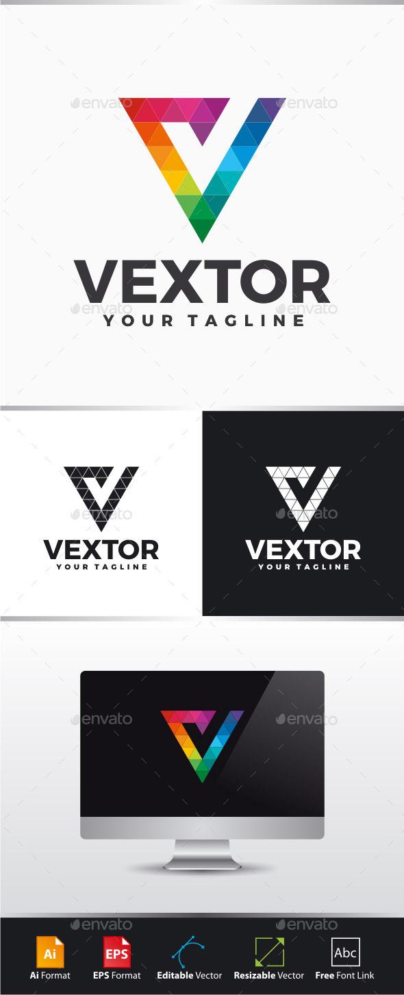 GraphicRiver Vextor Letter V Logo 11299755