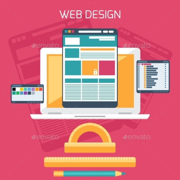 GraphicRiver Web Design Concept 11301413