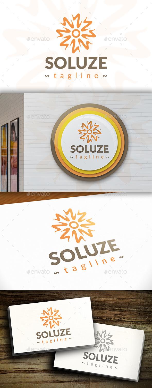 GraphicRiver Sun Spark Logo 11301424