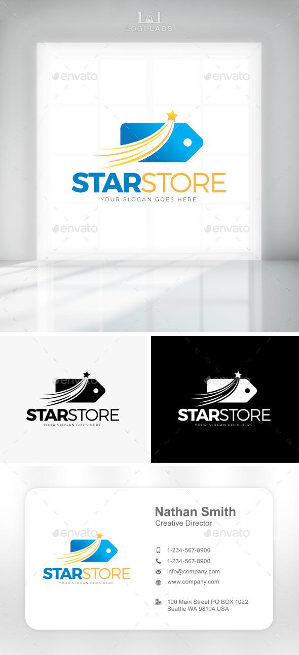 GraphicRiver Star Store Logo 11301573
