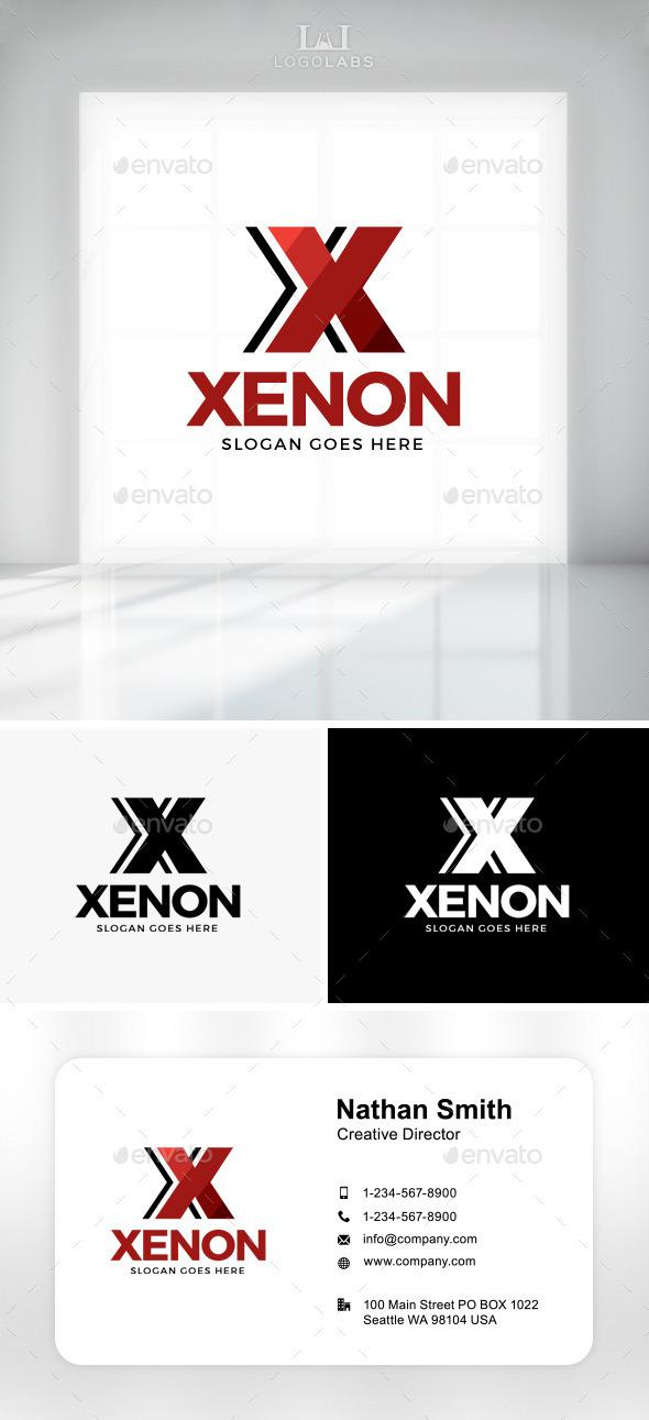 GraphicRiver Xenon Letter X Logo 11301610