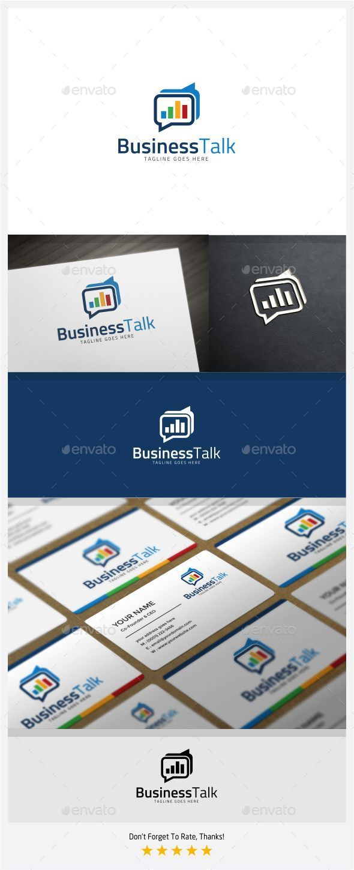 GraphicRiver Business Talk Logo 11301621