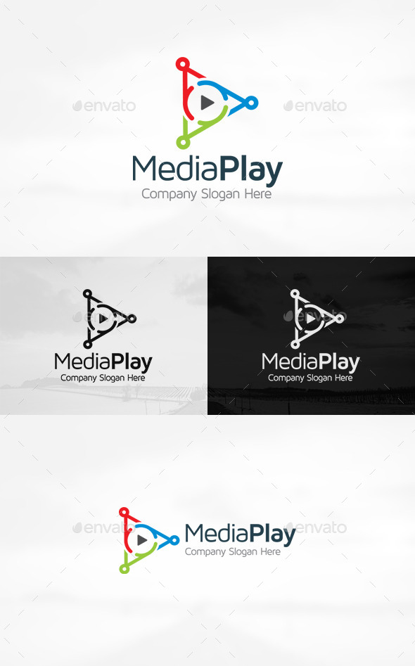 GraphicRiver Media Play Logo 11301623