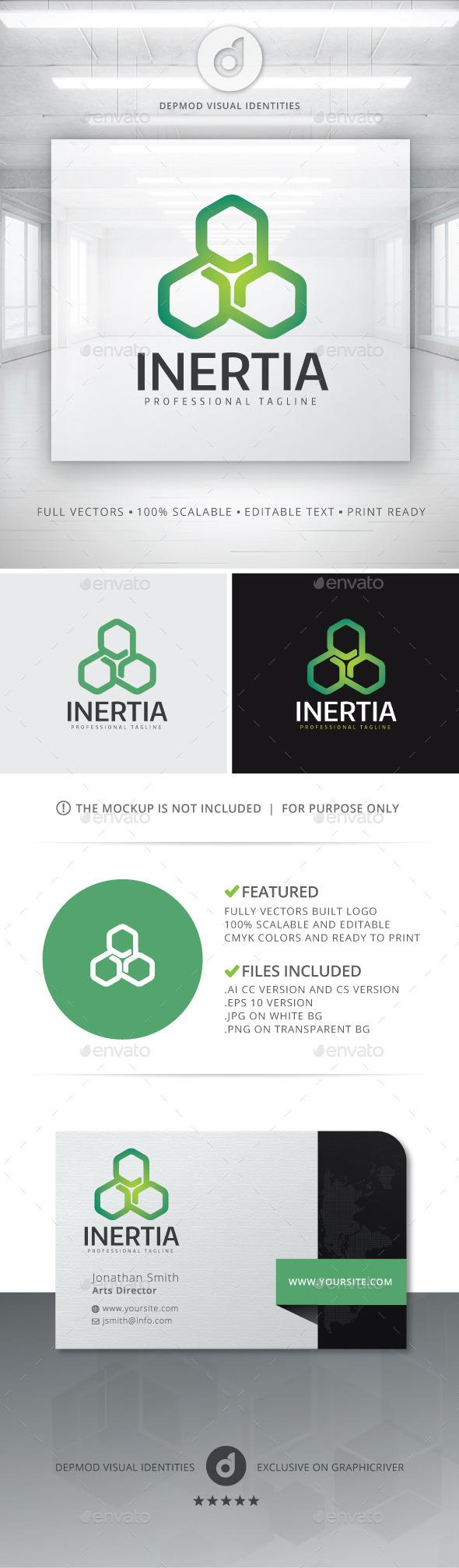 GraphicRiver Inertia Logo 11301823