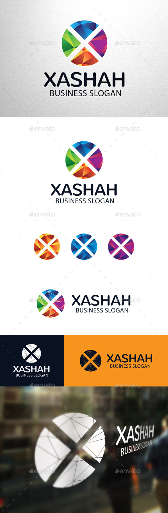 GraphicRiver Xashah Letter X Logo 11301871