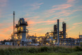 Heavy Industrial Chemical Factory at sunset - PhotoDune Item for Sale