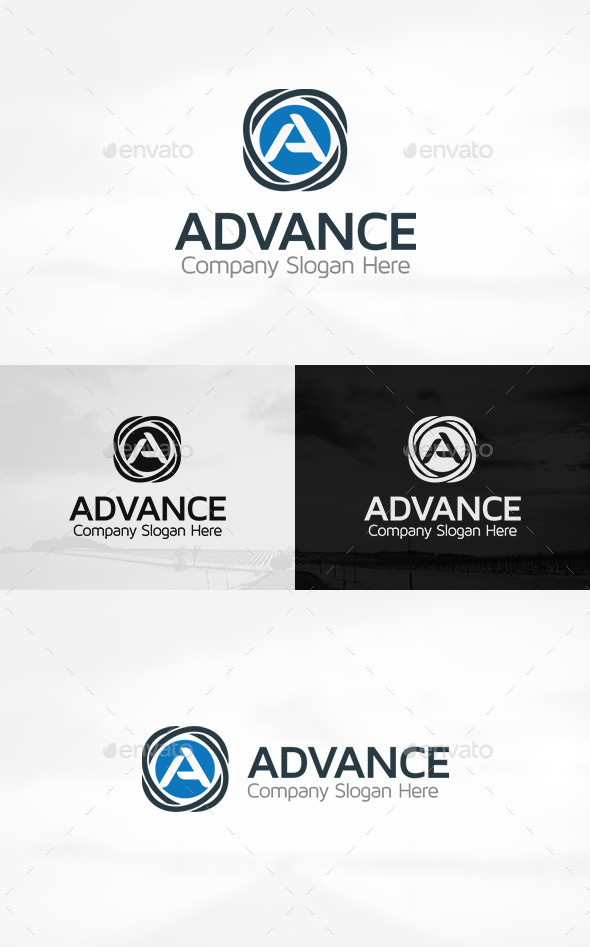 GraphicRiver Advance A Letter Logo 11301915