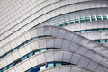 Curved details of modern architecture in the Netherlands - PhotoDune Item for Sale
