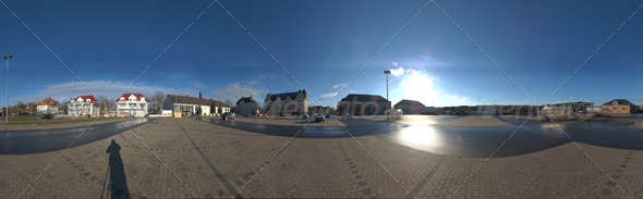 3DOcean HDRI parking lot 139580