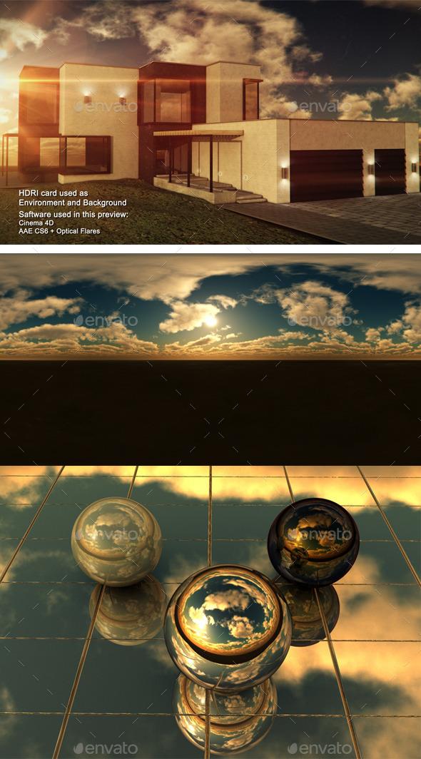 3DOcean Sunset Desert 17 11302579