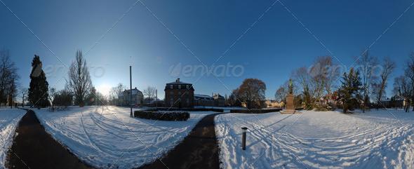 3DOcean HDRI snow plaza 139583