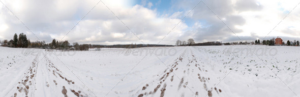 3DOcean HDRI snowfield 139584