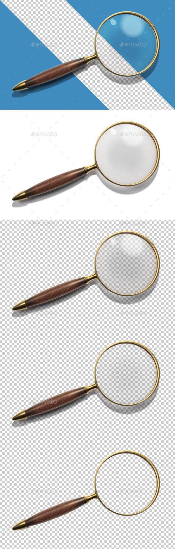 GraphicRiver Vintage Magnifier 11302851