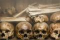 Human Bones at Tuol Sleng Genocide Museum in Cambodia - PhotoDune Item for Sale