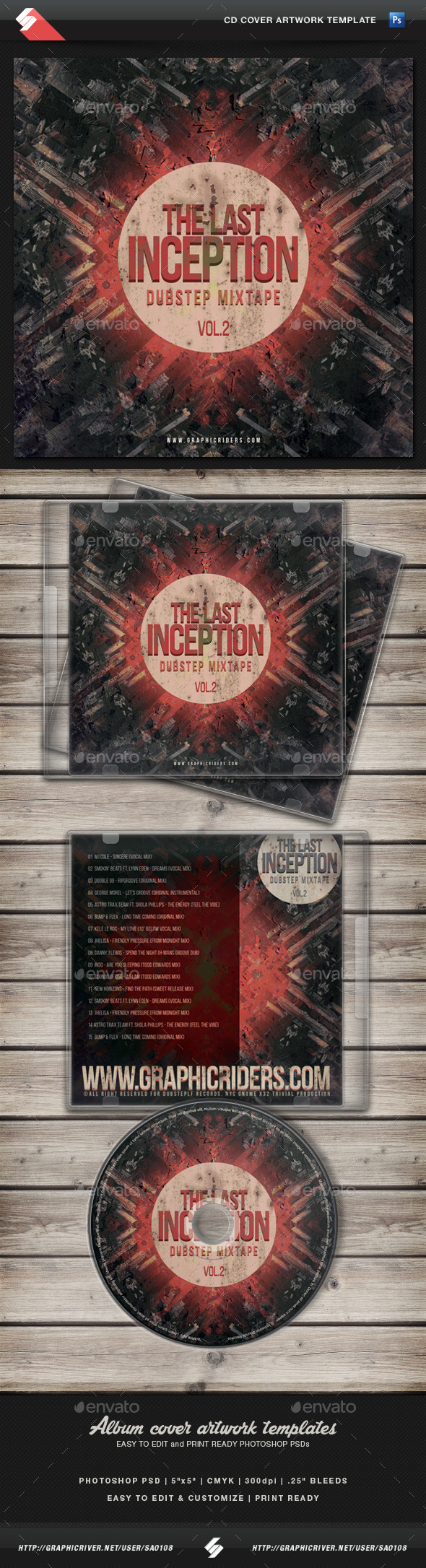 Graphicriver Book Cover Template Vol : Artwork music template tinkytyler stock photos