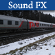 Fast Train Passing 02 - AudioJungle Item for Sale