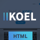 KOEL - Multipurpose HTML5 Template - ThemeForest Item for Sale