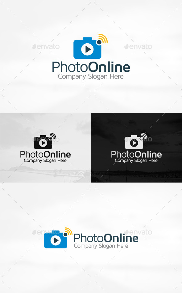 GraphicRiver Photo Camera Logo 11301690