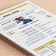 Visual Résumé/CV - GraphicRiver Item for Sale