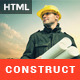 Construct:Building and Construction HTML Template - ThemeForest Item for Sale
