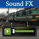Fast Train Passing 03 - AudioJungle Item for Sale