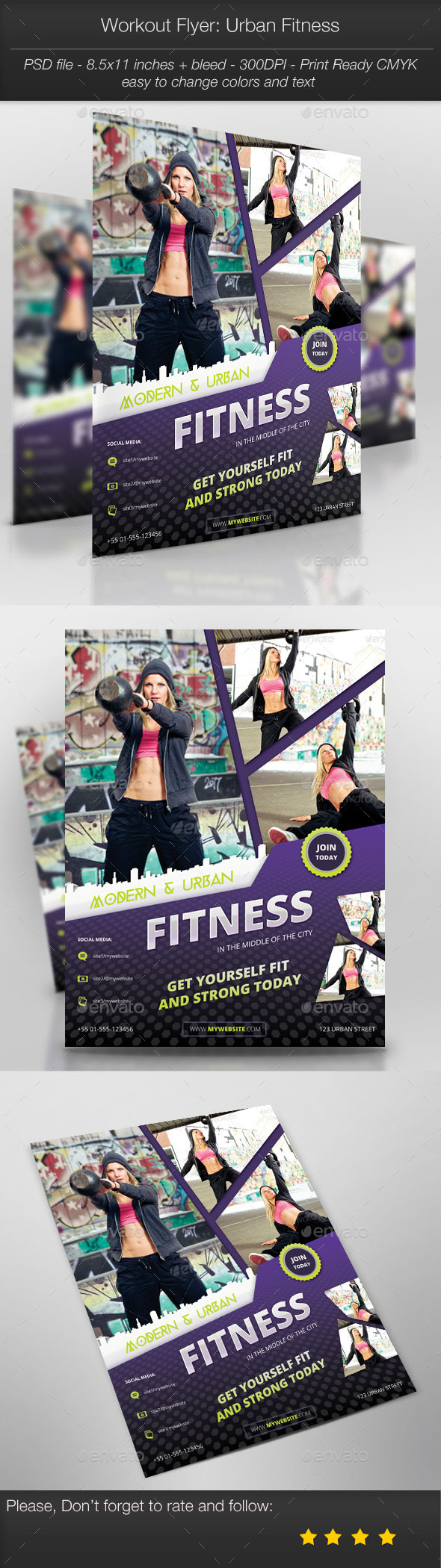 Workout Flyer: Urban Fitness