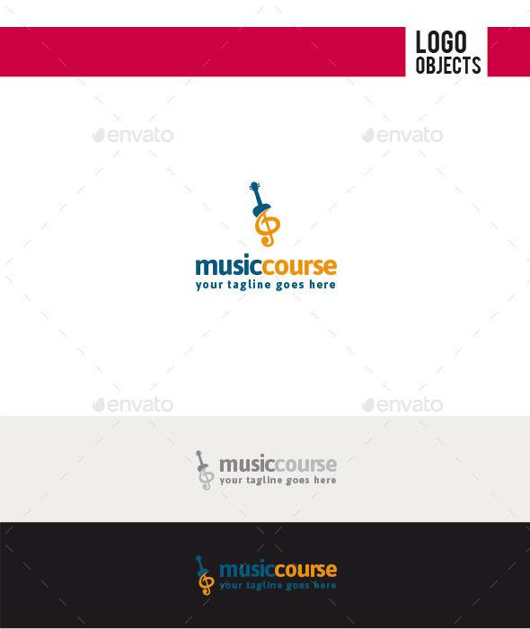 GraphicRiver Music Course Logo 11304981