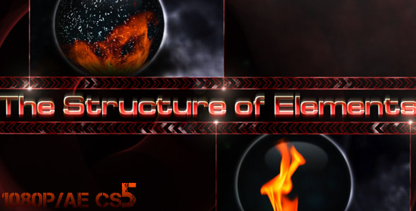 After Effects Project - VideoHive The Structure of Elements 1132511
