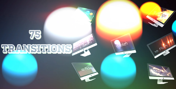 VideoHive 75 Transitions 11305346