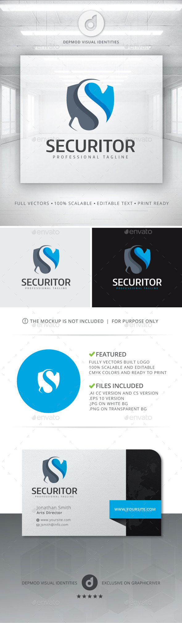 GraphicRiver Securitor Logo 11305753