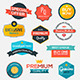 Collection of Modern Labels - GraphicRiver Item for Sale