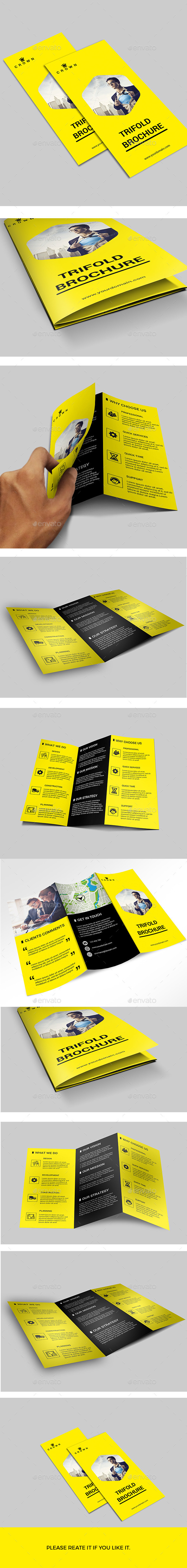 GraphicRiver Trifold Brochure 11305862
