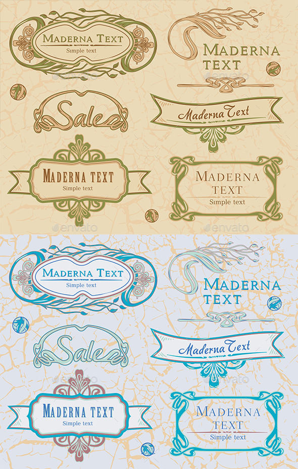 GraphicRiver Vintage Design Elements 11306024