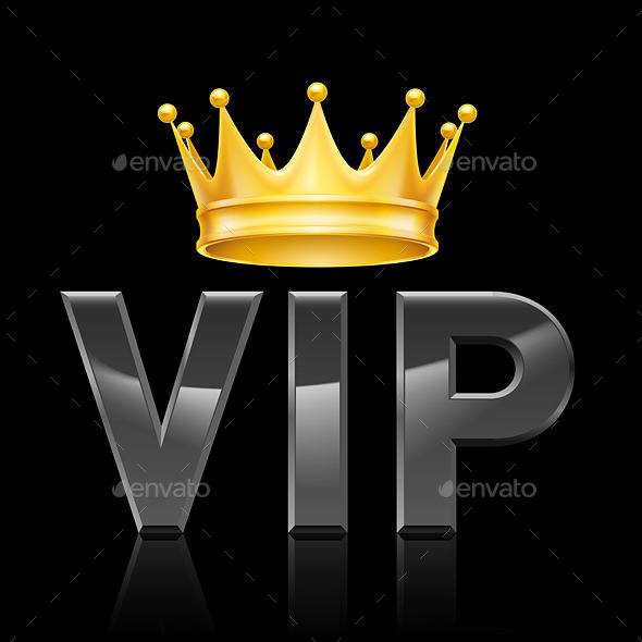 GraphicRiver VIP Golden Crown 11306121