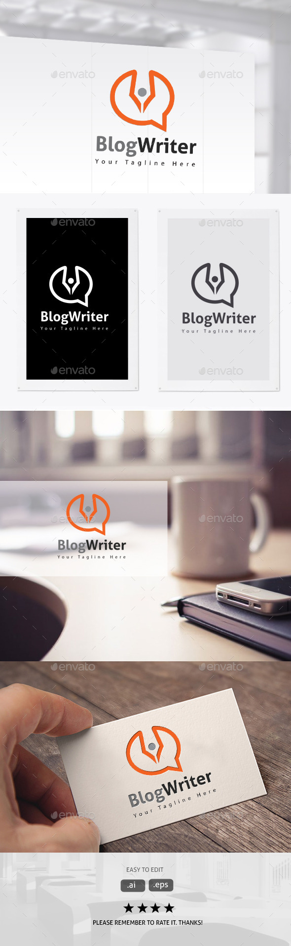 GraphicRiver Blog Writer 11306190