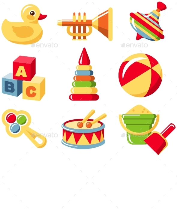 GraphicRiver Toys Set 11306268