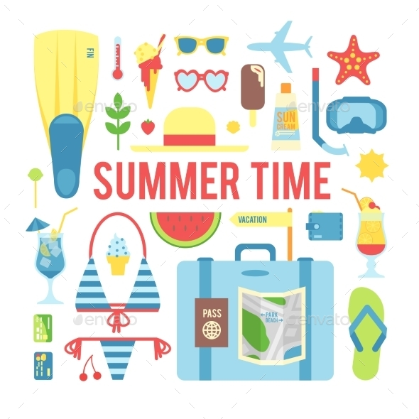 GraphicRiver The Summer Time 11306316