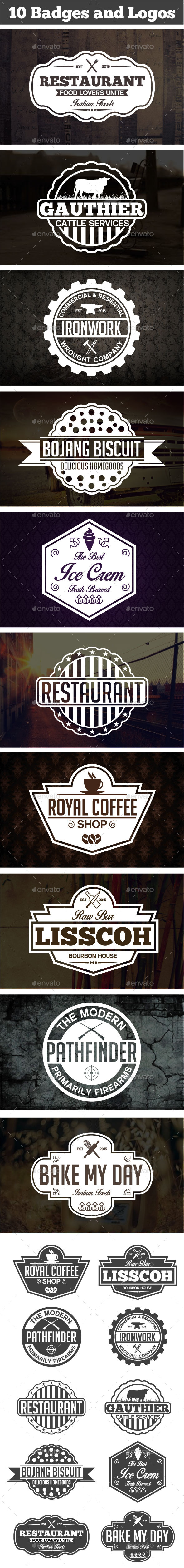 GraphicRiver Vintage Labels & Badges 11306393