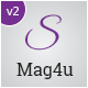 Mag4u - Responsive WordPress News, Magazine, Blog - ThemeForest Item for Sale