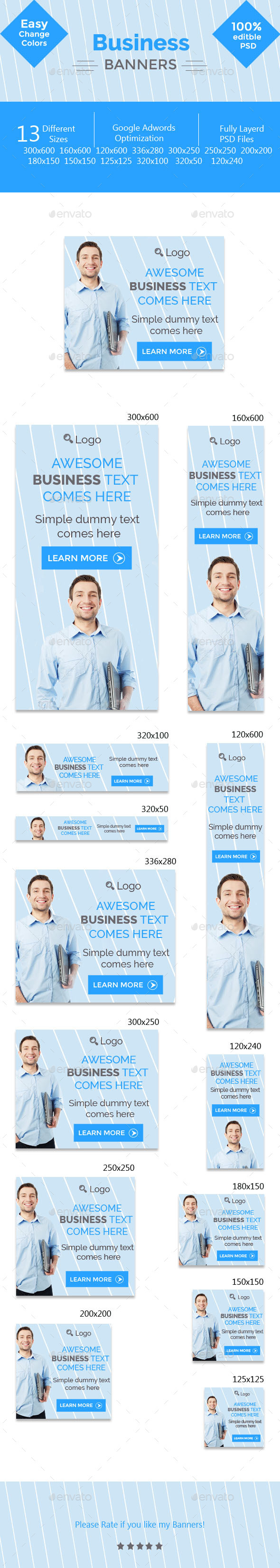 GraphicRiver Business Banners 11306623