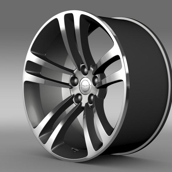3DOcean Chrysler 300 SRT8 Core rim 11306810