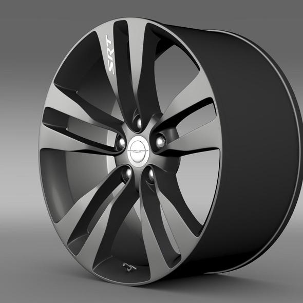 3DOcean Chrysler 300 SRT8 Satin Vapor rim 11306815