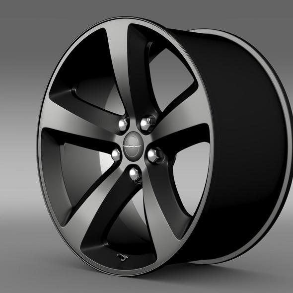 Chrysler 300S  rim - 3DOcean Item for Sale