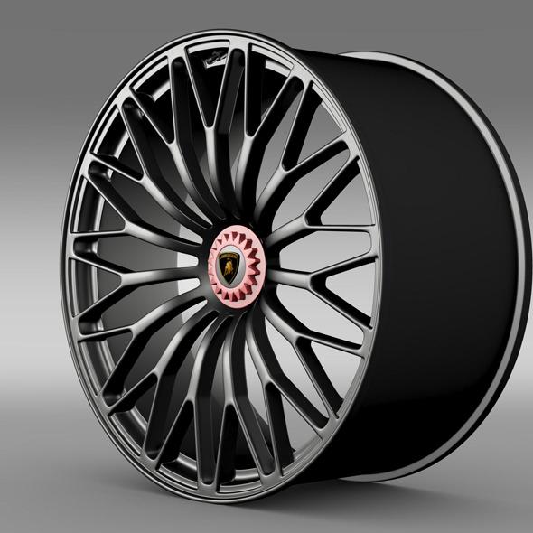3DOcean Lamborghini Aventador LP 750 4 SV rim 11306862