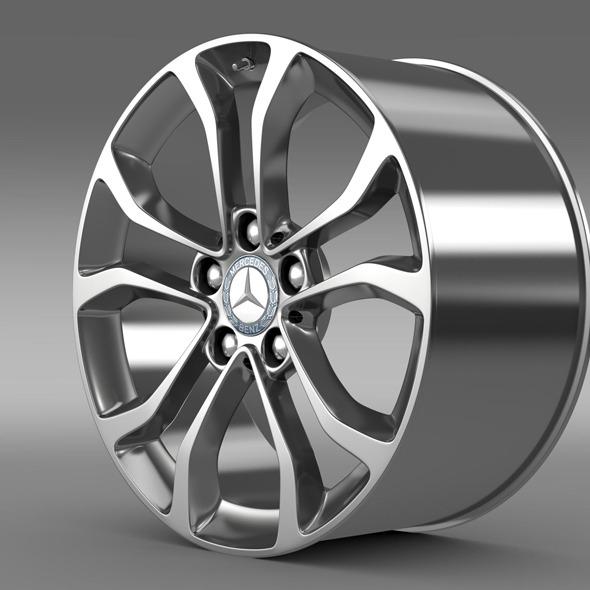 3DOcean Mercedes Benz C 220 rim 11307078