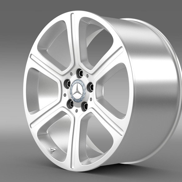 3DOcean Mercedes Benz C 300 Exclusive line rim 11307126