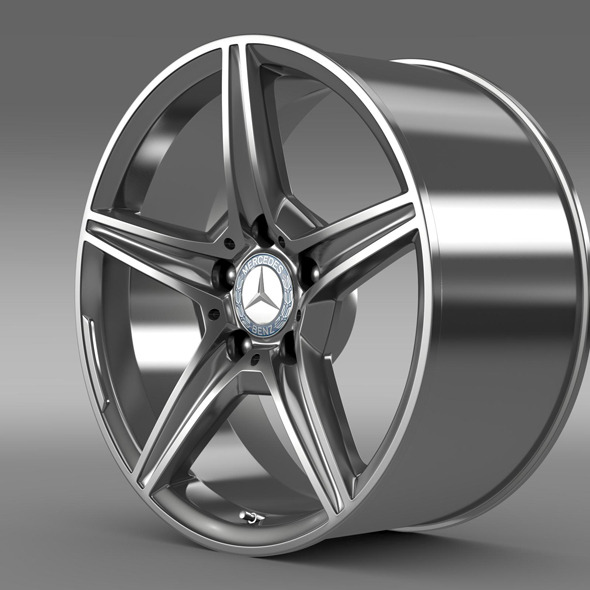 Mercedes Benz C 400 4Matic AMG line  rim - 3DOcean Item for Sale