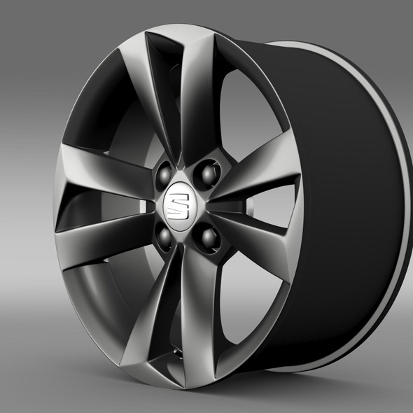 Seat Mii Vibora Negra  rim - 3DOcean Item for Sale